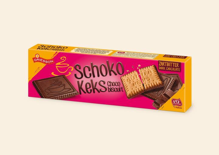 Choco Biscuits Dark Chocolate