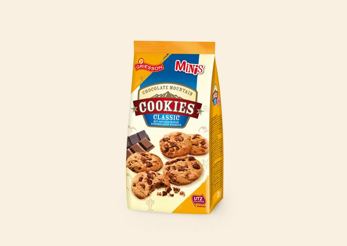 Chocolate Mountain Cookies Minis