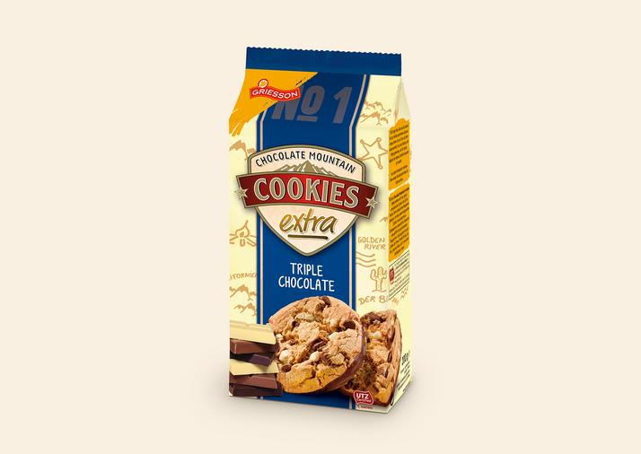 Chocolate Mountain Cookies Extra Triple Chocolate