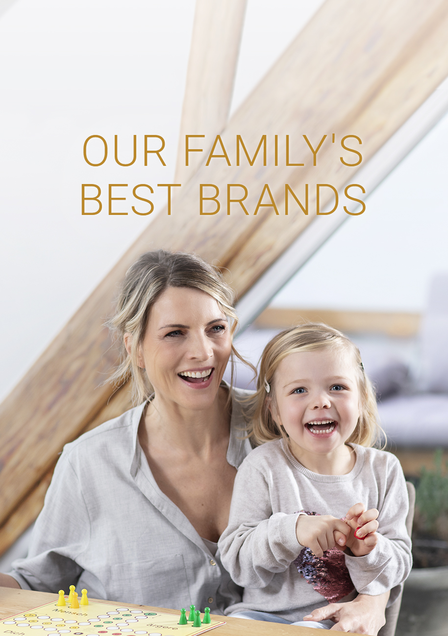 Our family's best brands